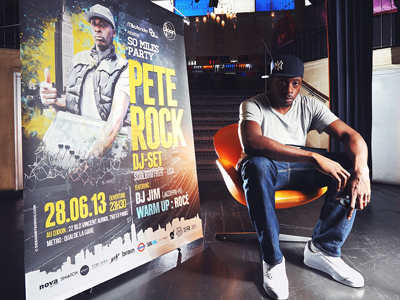 ITW – Pete Rock for So Miles Party