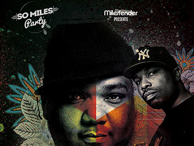 SO MILES PARTY : DJ MASEO + DJ SCRATCH + DJ SUSPECT – April 3rd @Djoon